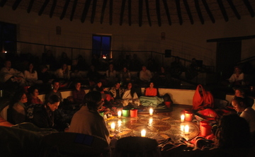 Full Moon Aya Ceremony in the Sacred Valley Tribe