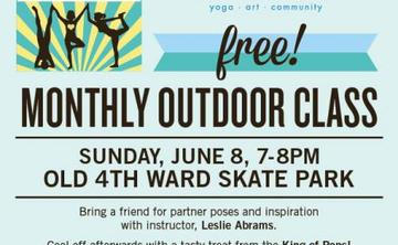 FREE OUTDOOR PARTNER YOGA WITH FRIENDS POP-UP