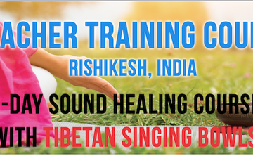 3 Days – Tibetan Singing Bowls – Sound Healing Teacher Training Course In Rishikesh, India