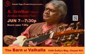 K. Sridhar on Sarod, Krishna Ramdas on Tabla