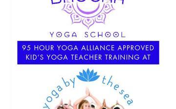 95 Hour Kid's Yoga Teacher Training at Yoga by the Sea