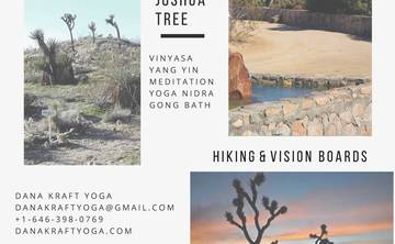 Winter Yoga Escape at Joshua Tree with Dana Kraft