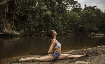 7 day New Years Local Art and Yoga Retreat in Peru's Amazon