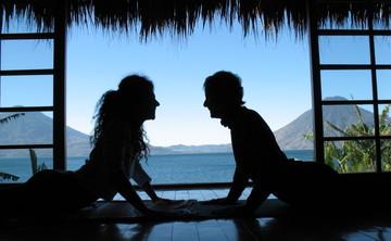 Writing and Yoga at Lake Atitlan, Guatemala