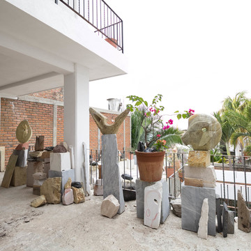Palos Sculpture Studio/Casa Alexandra in Puerto Vallarta, MX