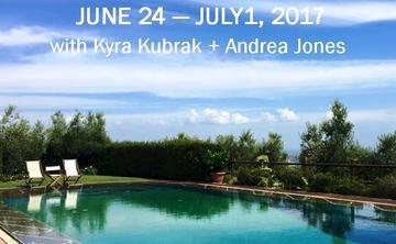 2017 Tuscany Yoga Retreat with Kyra Kubrak + Andrea Jones