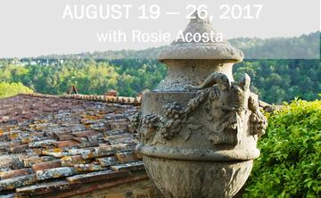 2017 Yoga Immersion in Tuscany with Rosie Acosta