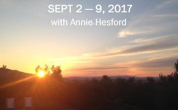 2017 Blissful Yoga Retreat in Tuscany with Annie Hesford