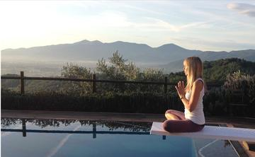 2017 Yoga + Walking in Tuscany with Dorothy Price