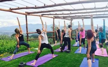 2017 Yoga in Tuscany with Elda Giardetti
