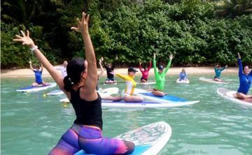 Stand Up Paddle Yoga On Liquid Teacher Training