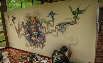 Visionary Art Retreat, March 1-11