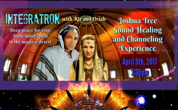 Integratron Sound Healing with Psychic Medium Riz and Oriah