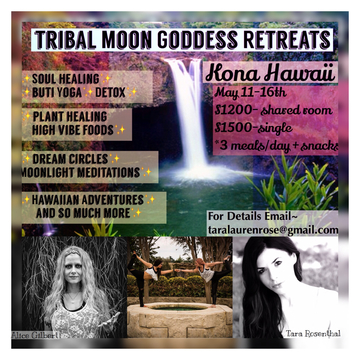 Tribal Moon Goddess Retreats