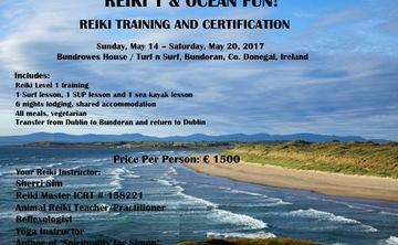 Reiki 1 and Ocean Fun Retreat!