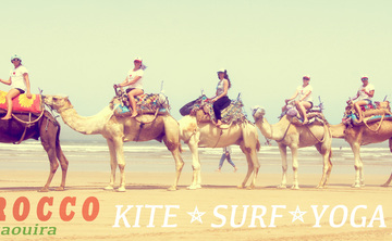 Kiteboarding, Yoga & Surf Retreat in Essaouira, Morocco
