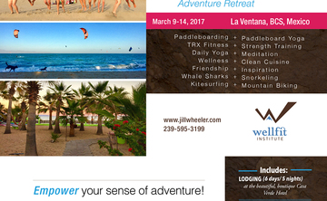 Women's Baja Paddleboard, Yoga and Kitesurfing Adventure Retreat