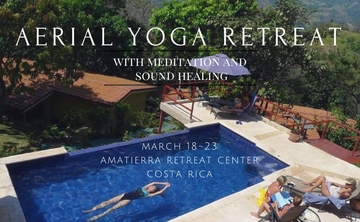 Aerial Yoga and Meditation Retreat