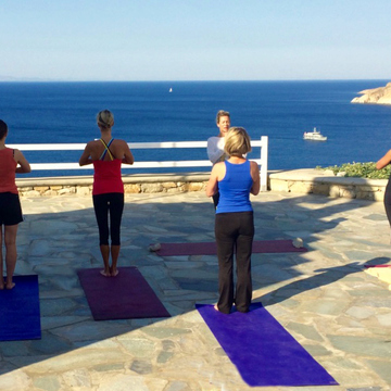 5* Luxury Yoga Retreat Mykonos Greece: 7-14 September 2019