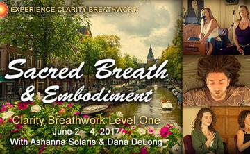 Amsterdam Clarity Breathwork Level 1: Sacred Breath & Embodiment @ NaarZee