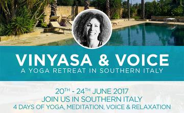 Vinyasa and Voice Retreat
