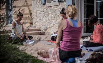 Soul flow yoga retreat