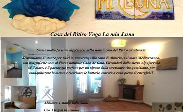 YOGA RETREAT HOUSE MI LUNA ALMERIA SPAIN