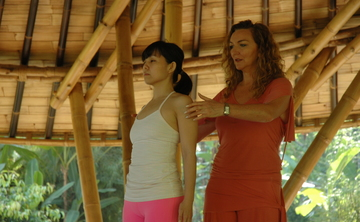 Iyengar Yoga on the Greek Island of Hydra