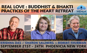 Real Love: Buddhist & Bhakti Practices of the Heart