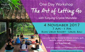 The Art of Letting Go - November 1-Day Workshop