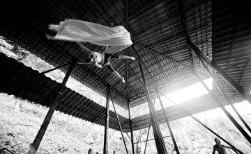 Yoga/Aerial Silk, Surf Lesson, Accomm. & Food