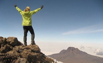 Kilimanjaro Climb with Peggy Orr