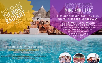Transformational Retreat For Your Mind and Heart - Reveal Your Radiance