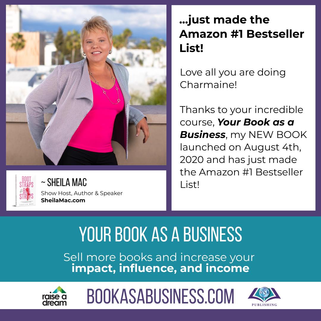 Your Book as a Business - Testimonial - Sheila Mac