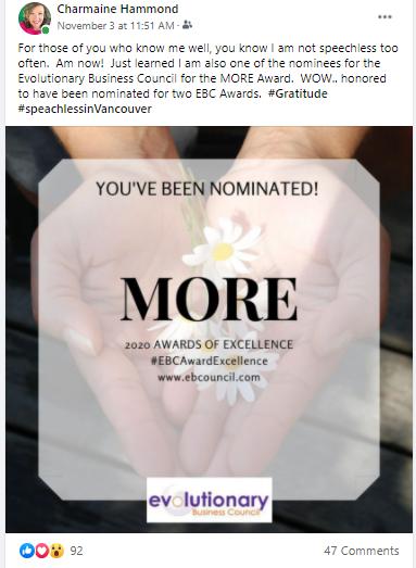 Nomination - Facebook Post