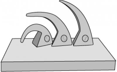 Cone bending from a slow firing