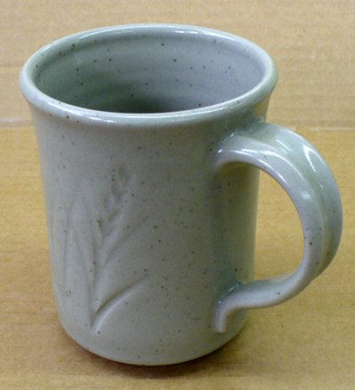 Cone 5R mug with GR6-A Ravenscrag glaze