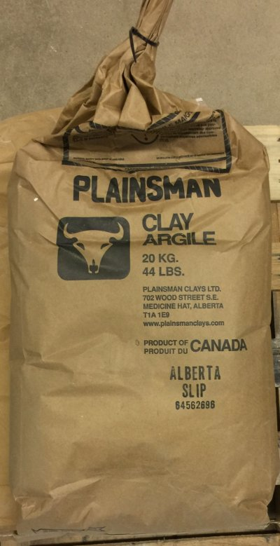 An original container bag of Alberta Slip