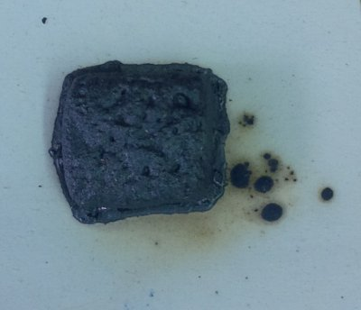 Copper Carbonate is beginning to melt. When?