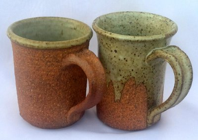 Mugs made from a sculpture clay? Yes!