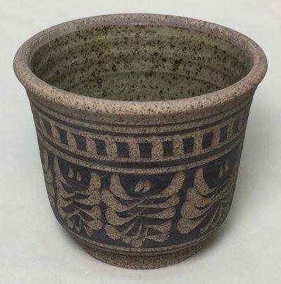 Small incised Plainsman H443 bowl
