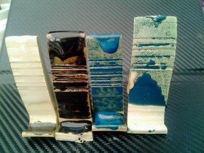 Colemanite and what its decrepitation does in glazes