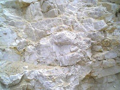 Stockpile of crude feldspar from MGK Minerals (India) deposit