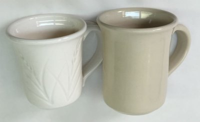 Cleanest kaolin porcelain vs. ball-clay-only porcelain!