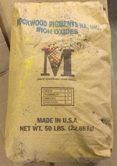 Yellow Iron Oxide original container