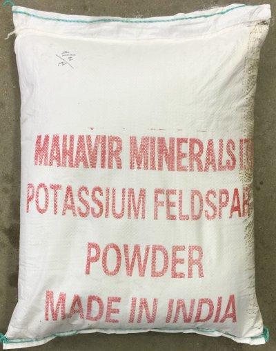 Original container bag of Mahavir Feldspar