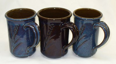 Rutile blue glaze effect completely lost! A temporary solution.