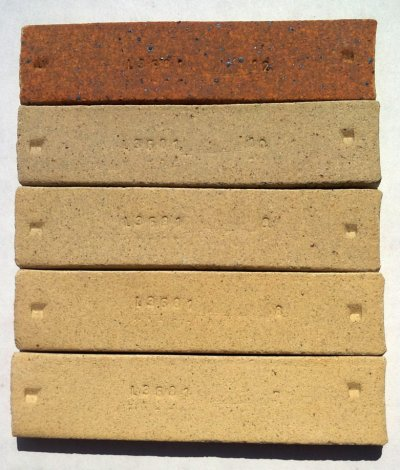 Pine Lake fireclay lab test bars