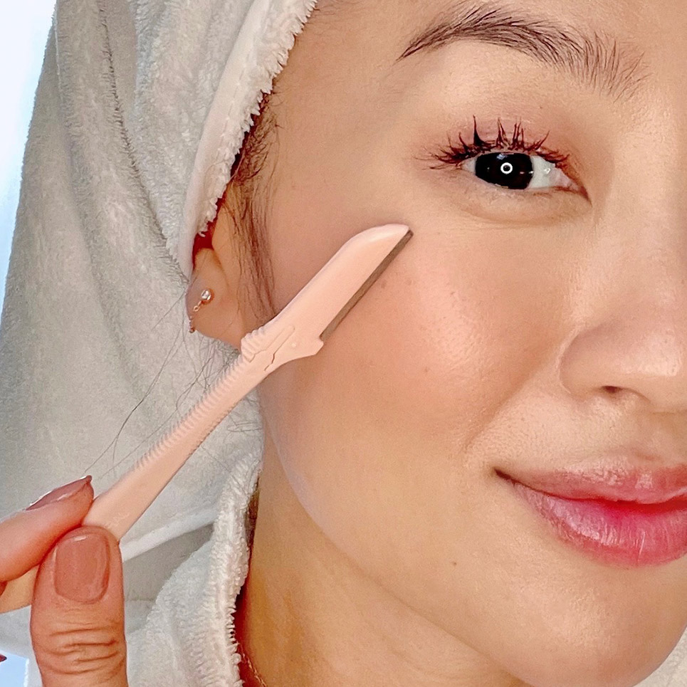 Using Complexion Perfection Dermaplaners