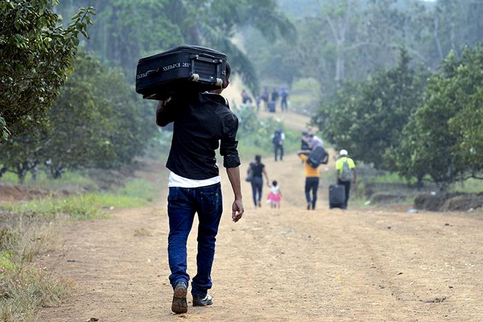 Los tres caminos del migrante nicaragüense
